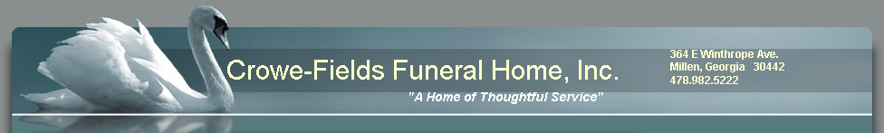 Crowe-Fields Funeral Home, Inc.